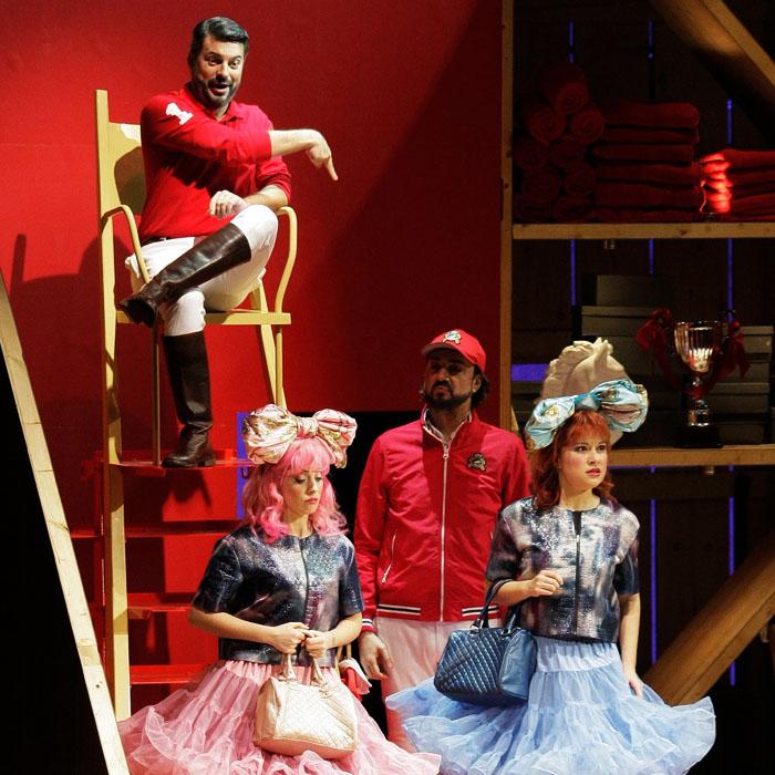 Opéra de Toulon, 2014 - La Cenerentola - David Menendez, David Alegret, Elisa Cenni, Caroline Meng