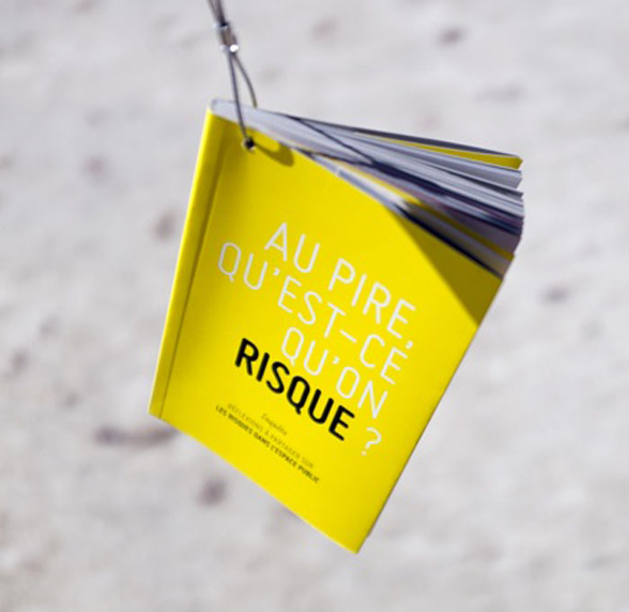 Abécédaire - Au pire, qu'est-ce qu'on risque ? - Jean-Philippe Clarac & Olivier Deloeuil / Agora Bordeaux, 12-13 Septembre 2014
