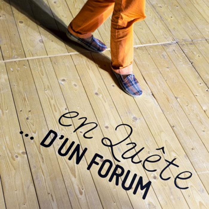 En Quête d'un Forum ... / Agora Bordeaux, 12-13 Septembre 2014