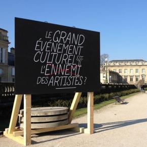 Enquête En Quête #1 - Entrée du Jardin Public Bordeaux