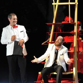 Eric Bougnon (Le Diable) et Jonathan Harscoët (Le Soldat)